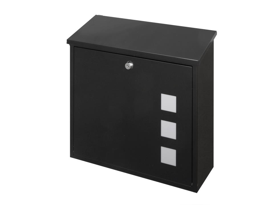 Black Finish Post Box for Ultimate Front Doors