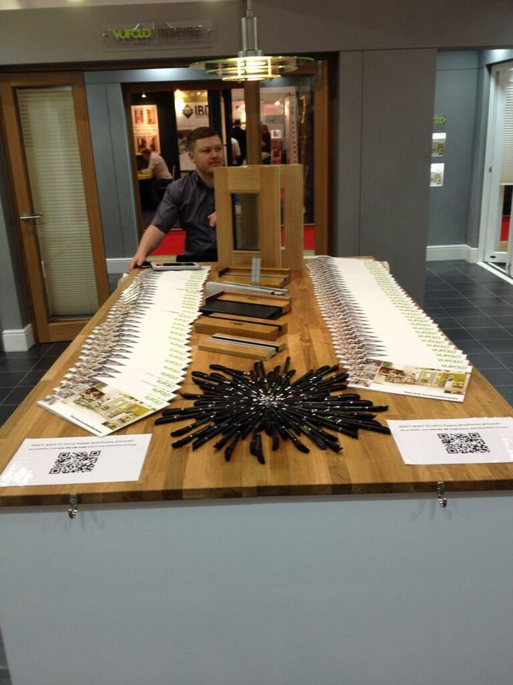 Table display at Grand Designs Live