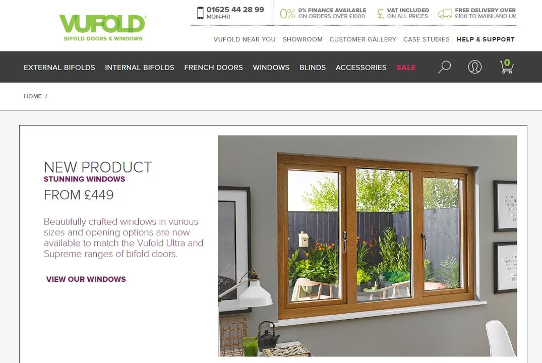 New Vufold Homepage