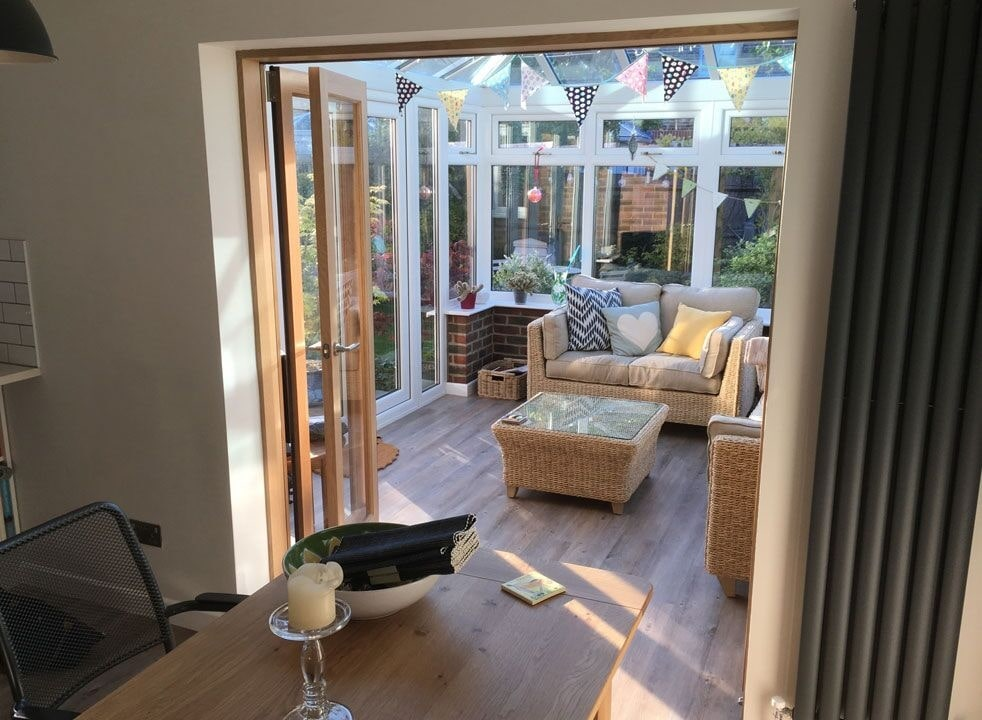 Open Inspire 1.8M internal bifold doors