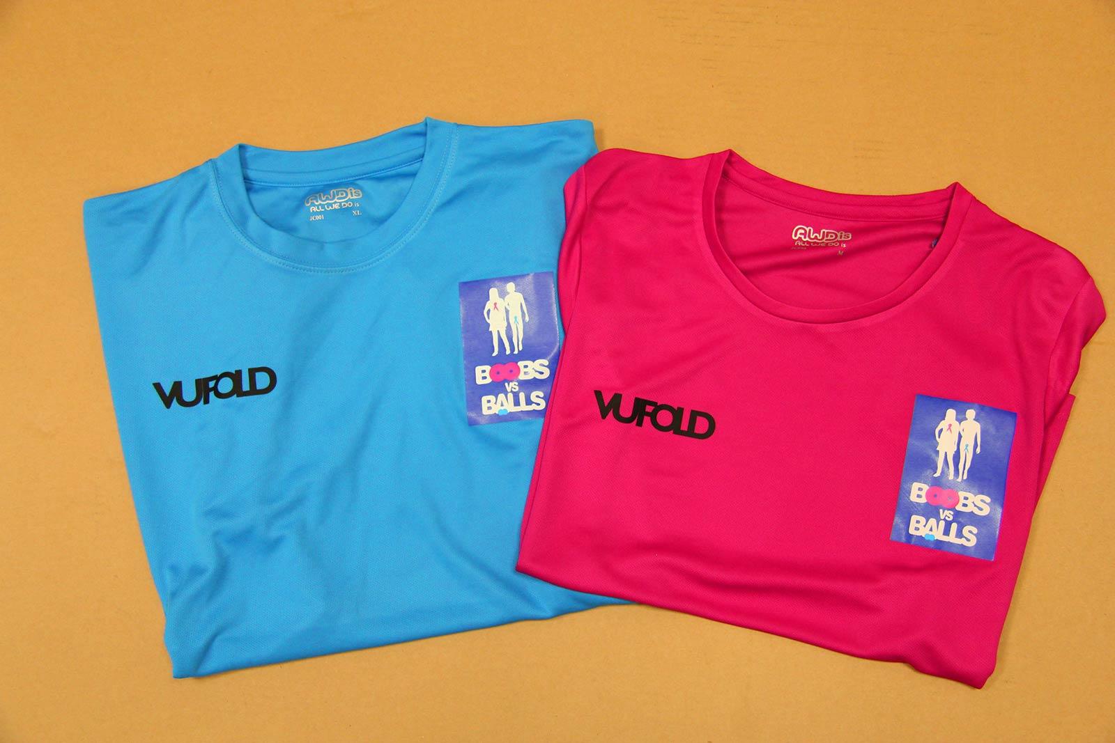 Vufold Sponsored Shirts
