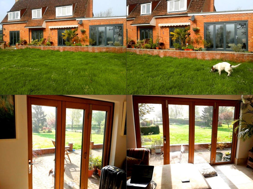 4 Sets of Ultra External Bifold Doors