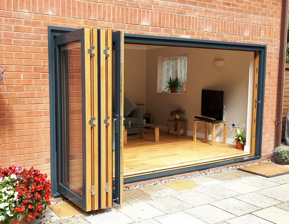 Open 4.2M Ultra Bifold doors