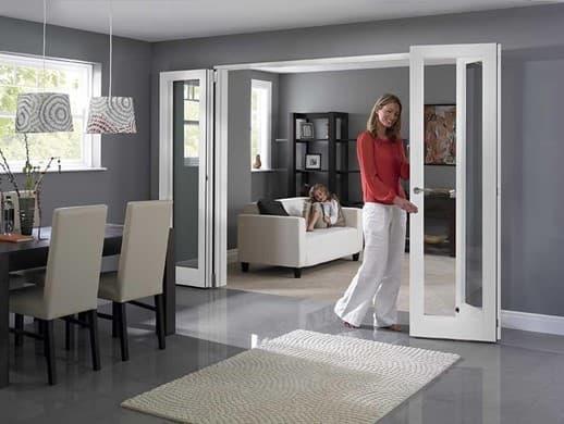 open-bifold-door