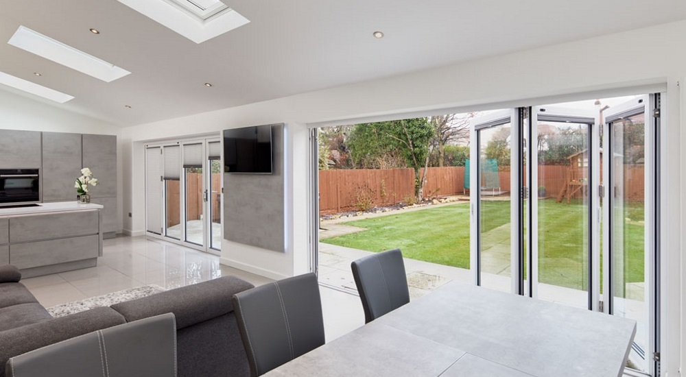kitchen dining bi fold door