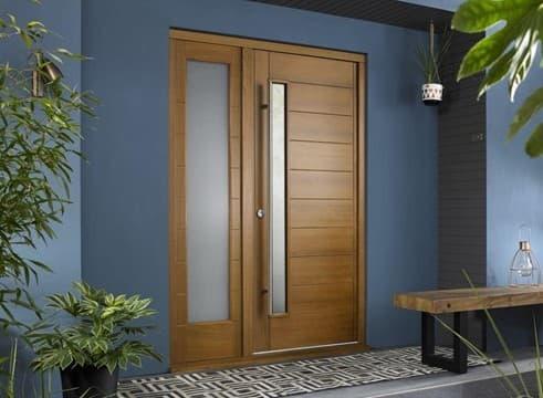 woodern front doors