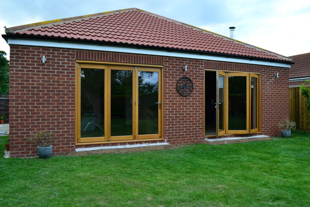 2 sets of Elite 8ft Bifolding Doors