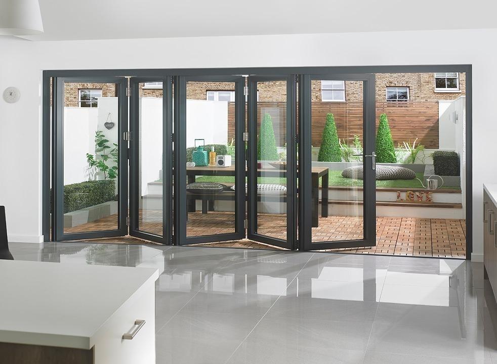 external bifold door image