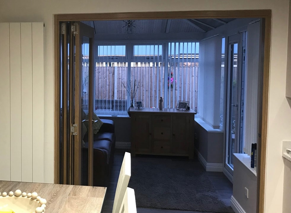 Open Finesse 1.8M Internal Bifold doors