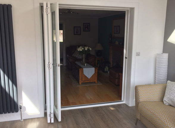 Open Finesse White 1.8M Internal bifold doors