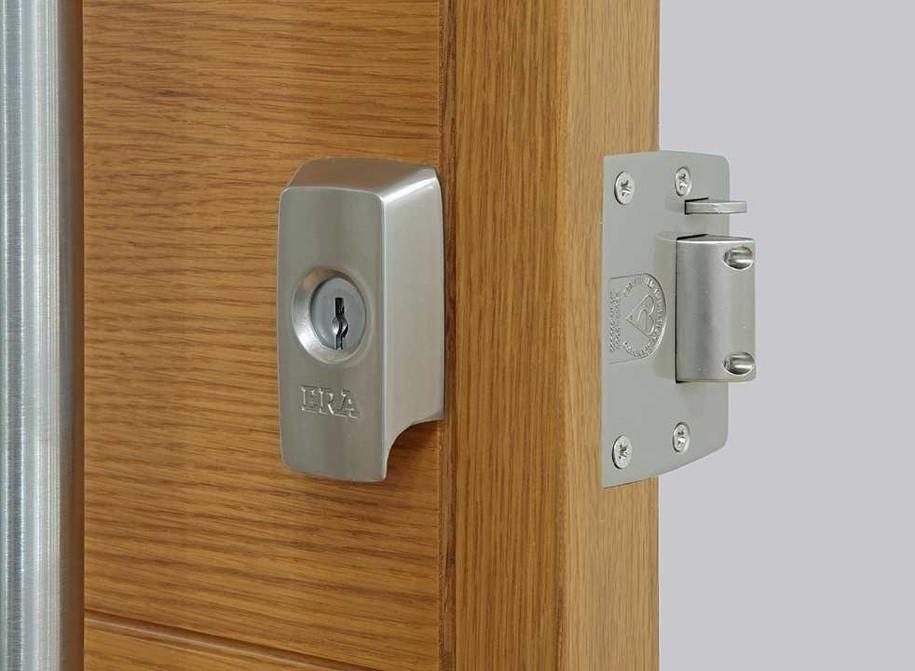 front door security latch