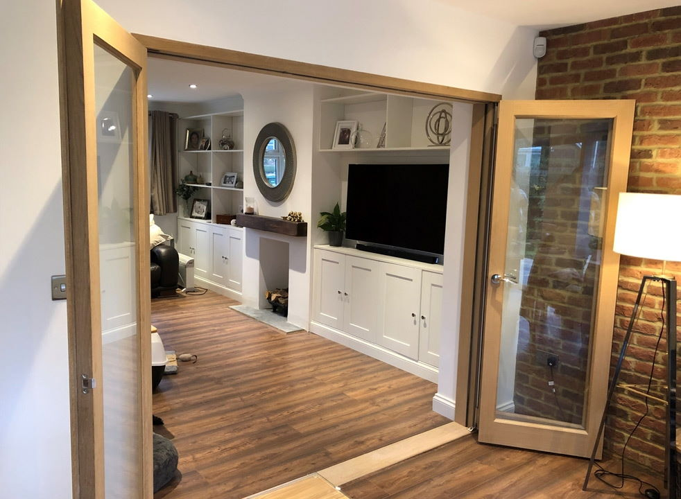 Open Inspire 2.1M internal bifold doors