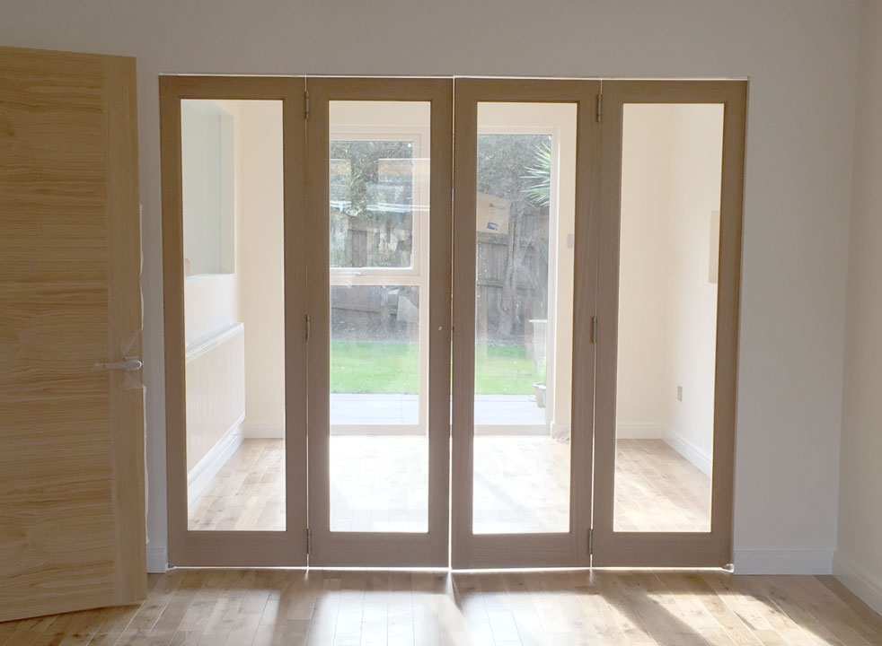 Closed 2.4M Inspire internal bifold doors