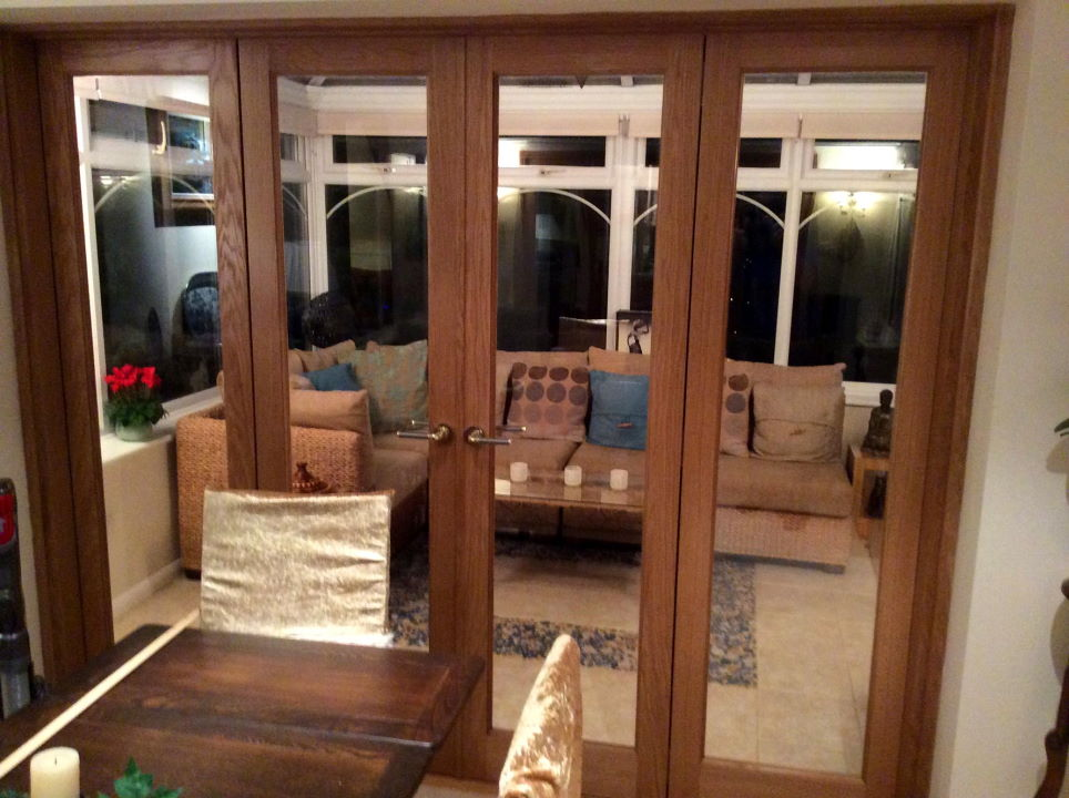 Inspire 8ft Bifold Replace Old Patio Doors
