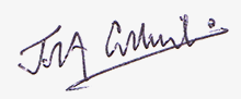 The signature of John Collins.