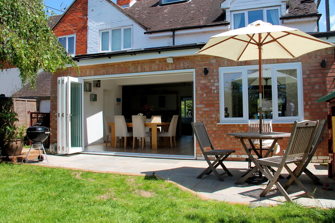 Outside open 3590MM Master Bifold Doors