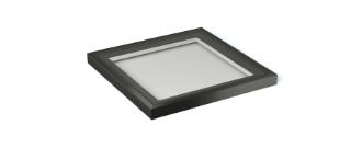1m x 1m black rooflight