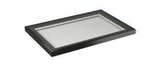 1m x 1.5m black rooflight