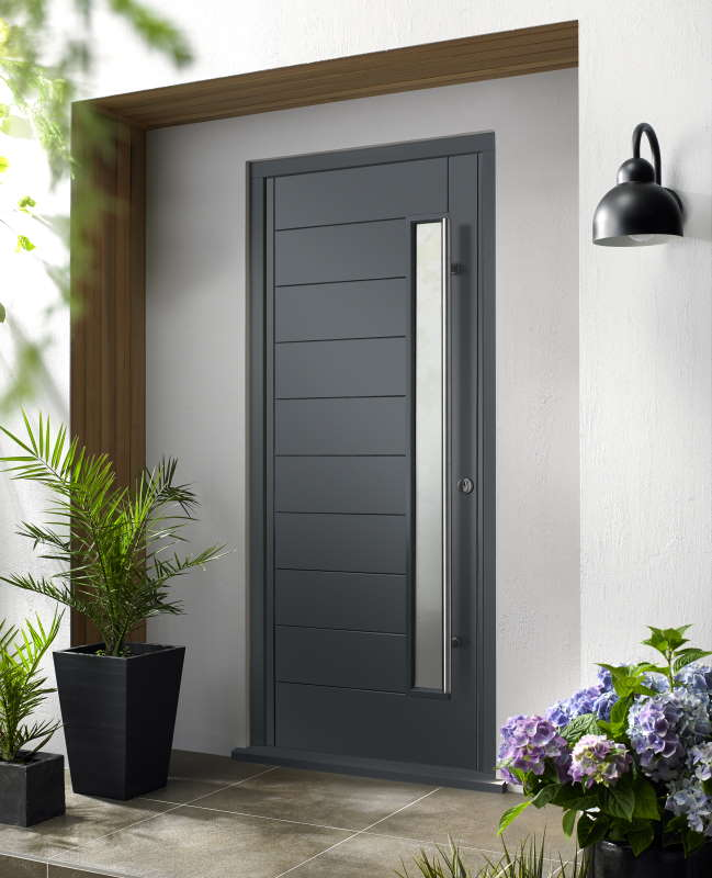 Stockholm grey with handle