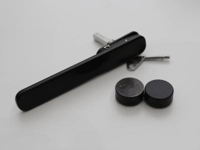 Black handles with black hardware