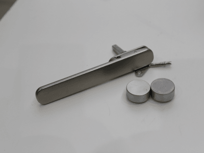 Satin nickel handles and hardware