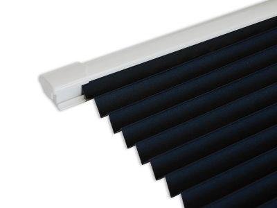 White Trim Blind In Black