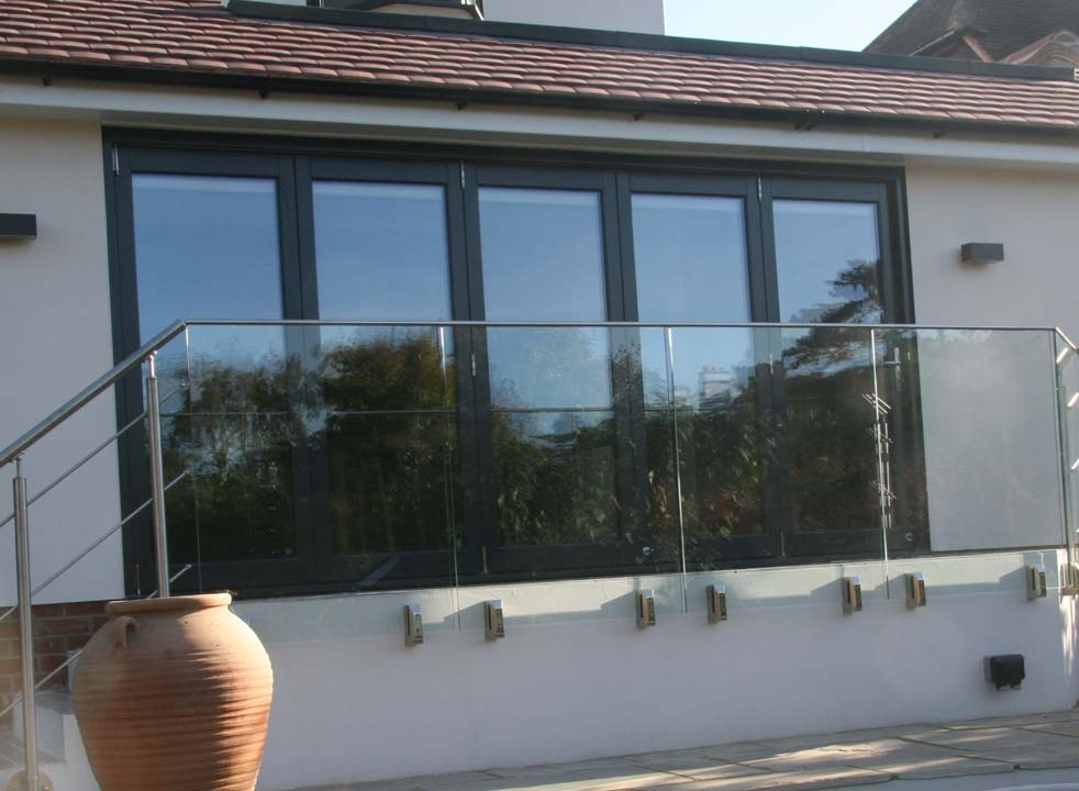 Ultra Alu-Clad 4.2M External bifold doors Closed