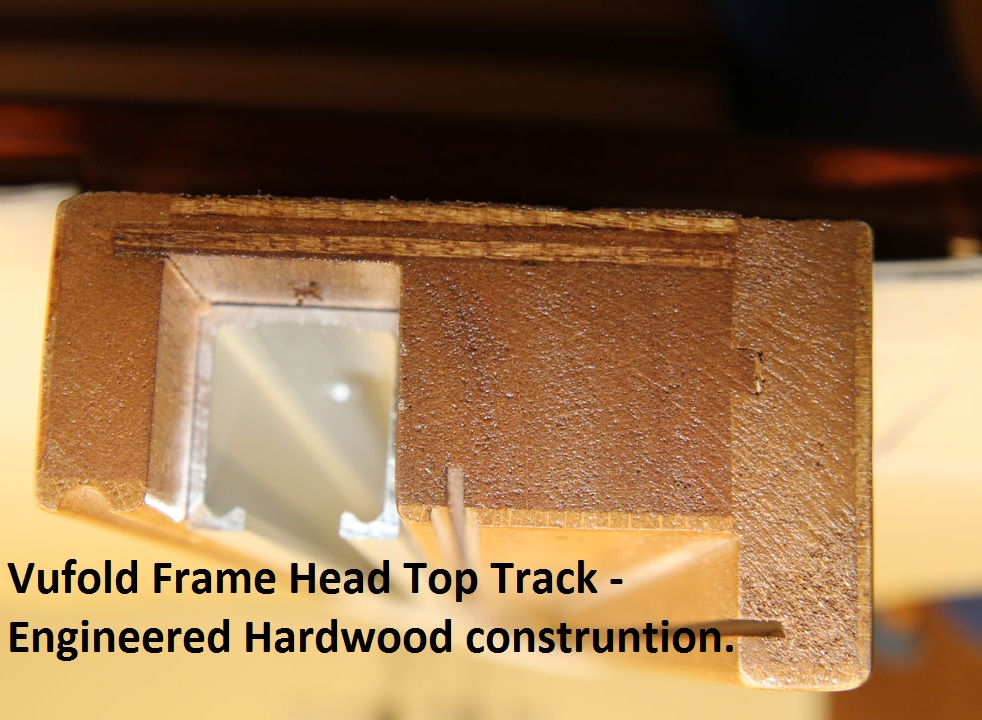 Vufold Frame Head Top Track